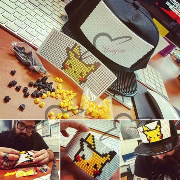 DIY Cap Pikachu