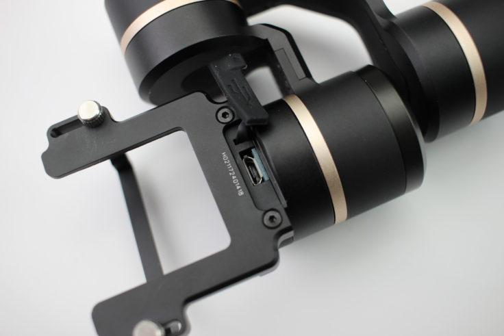 FeiyuTech G5 Micro-USB-Anschluss an Oberseite