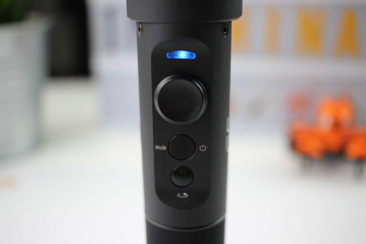 FeiyuTech G5 Bedienelemente auf Vorderseite