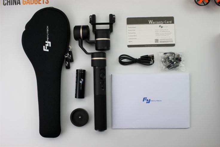 FeiyuTech G5 Lieferumfang
