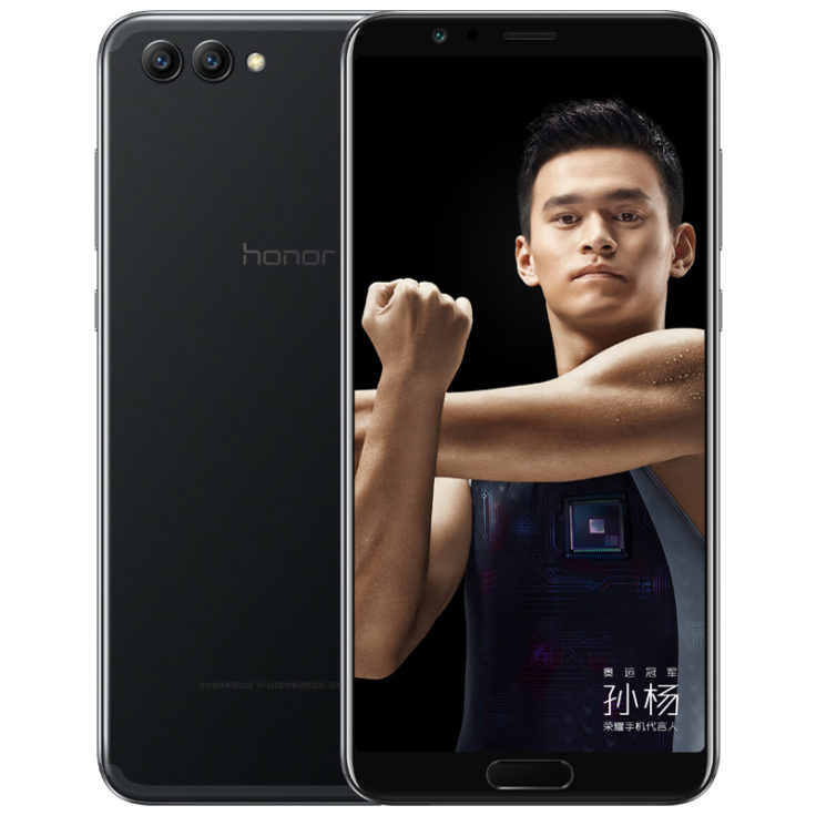 Honor V10 in schwarz