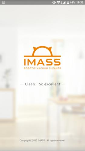 IMASS A3S Saugroboter App