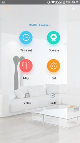 IMASS A3S Saugroboter App Funktionen