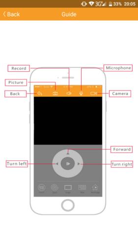 IMASS A3S Saugroboter App Steuerung