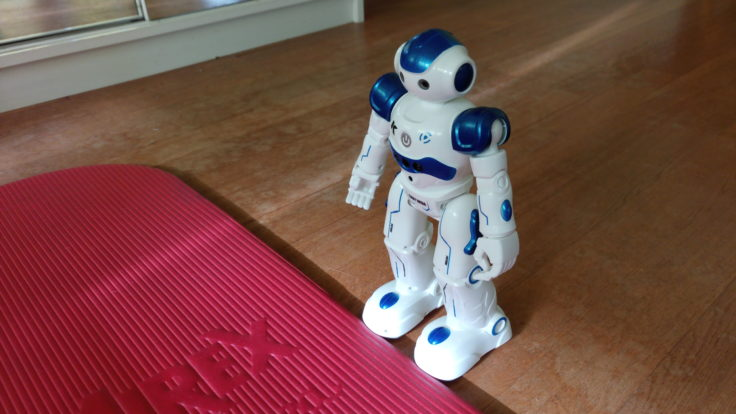JJRC R2 CADY WIDA Roboter Hinderniserkennung