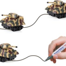 Linientreuer Mini-Panzer