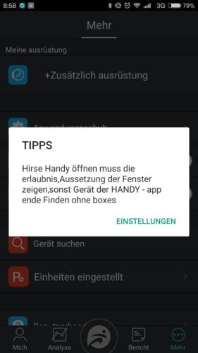 NO.1 F4 Fitness Tracker Deutsche Übersetzung