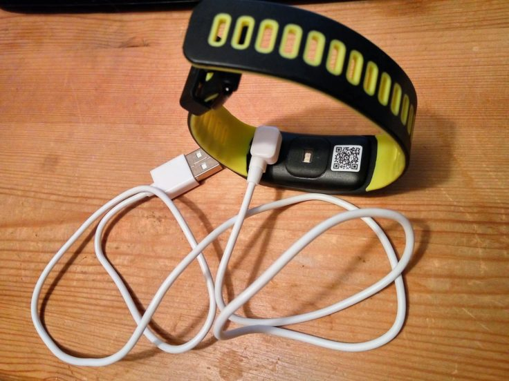 NO.1 F4 Fitness Tracker Ladekabel