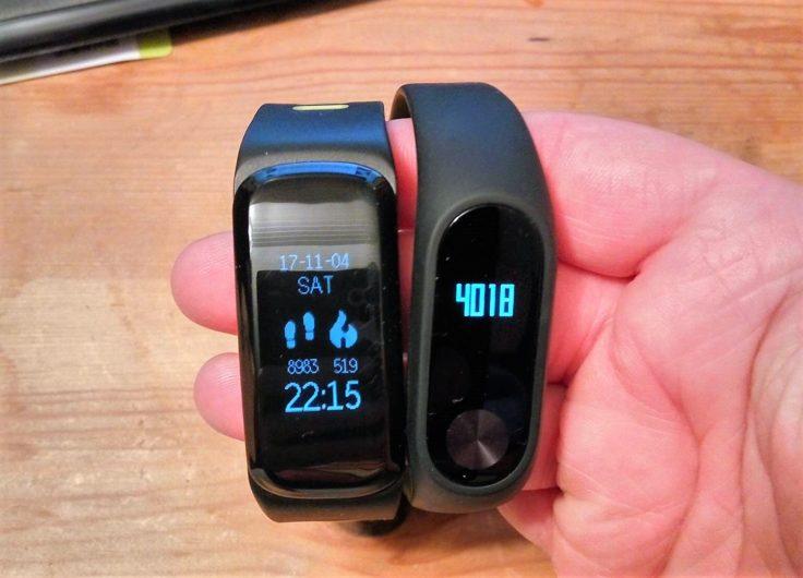 NO.1 F4 Fitness Tracker mit MiBand 1