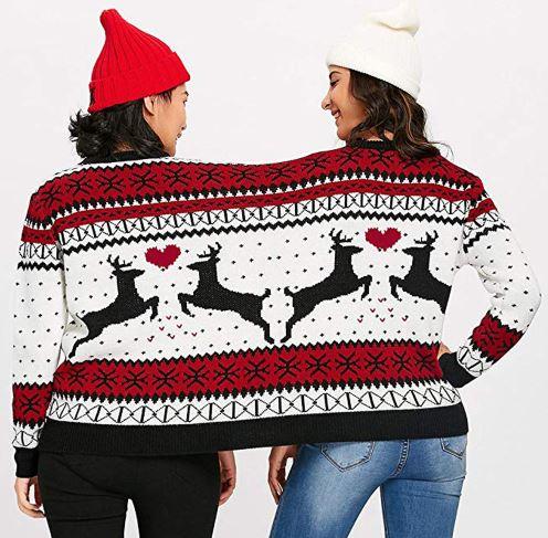 Weihnachtspullover Partner