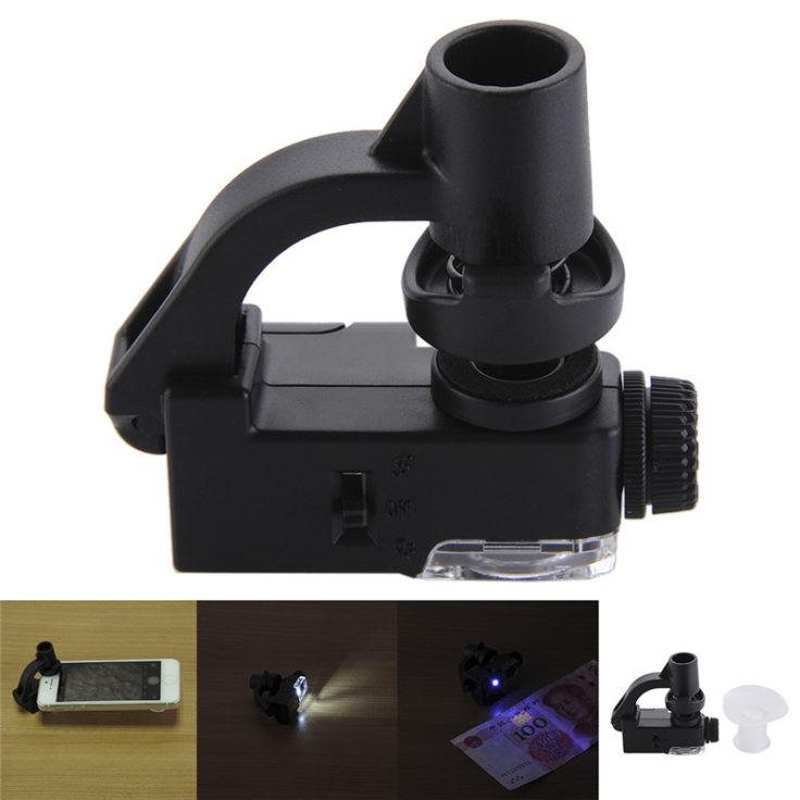 Smartphone Mikroskop