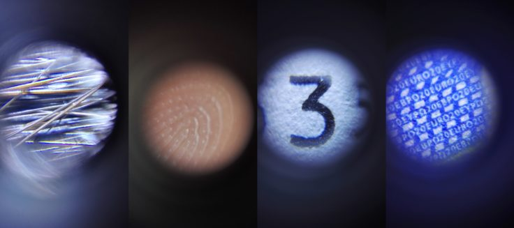 Smartphone Mikroskop Beispiele