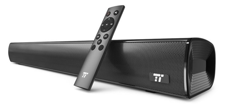 im test taotronics tt sk017 wireless soundbar. Black Bedroom Furniture Sets. Home Design Ideas