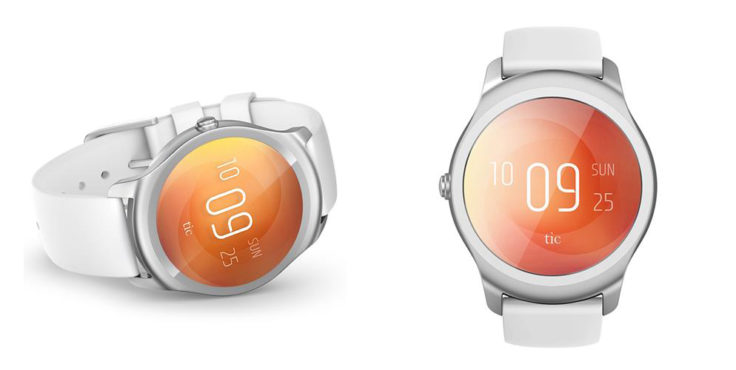 Ticwatch 2 Smartwatch Weiß