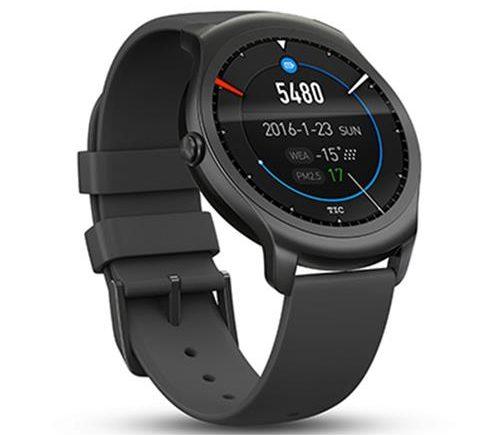 Ticwatch 2 Smartwatch Schwarz