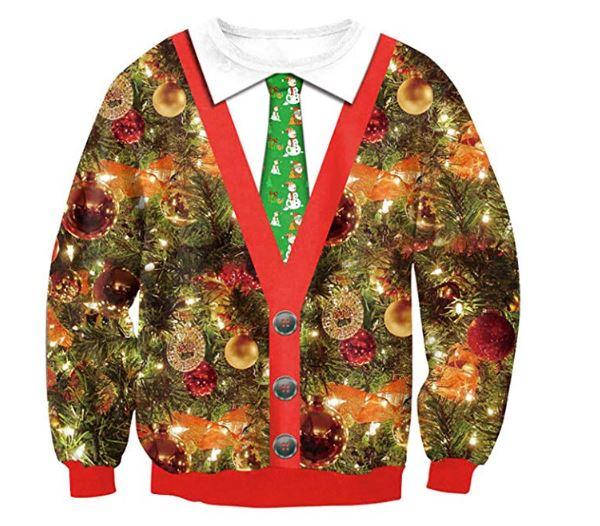 Weihnachtspullover Weihnachtsbaum