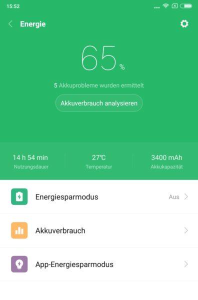 Xiaomi Mi Mix 2 Akku