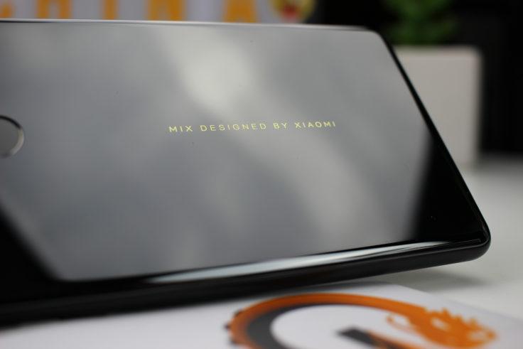 Xiaomi Mi Mix 2 Schrifzug