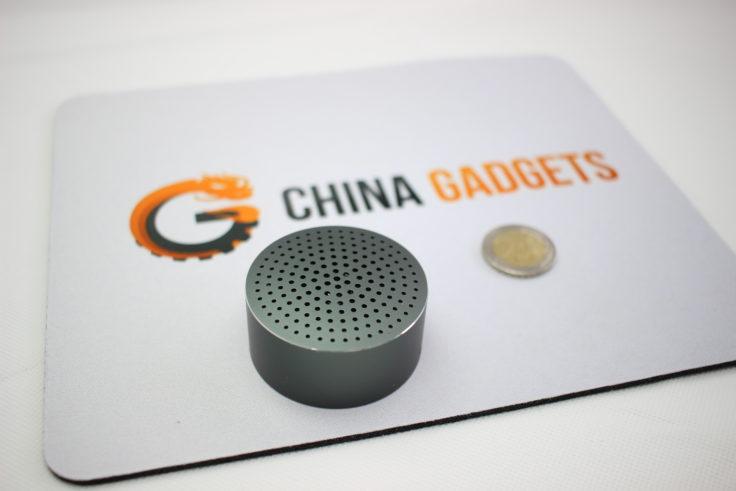 Xiaomi Mini Bluetooth Speaker Vergleich mi 2 Euro Münze