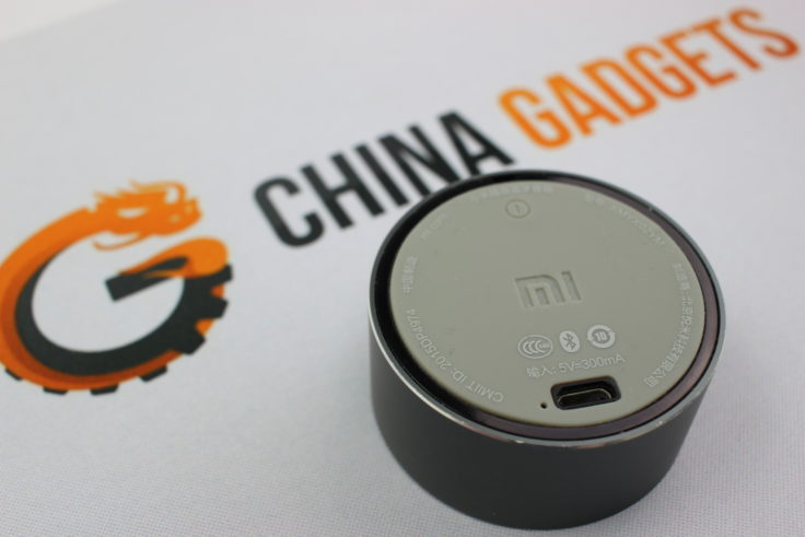 Xiaomi Mini Bluetooth Speaker Anschluss