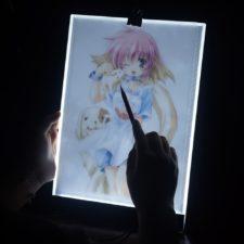 Zeichenbrett LED Licht zum Abpausen