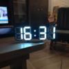 LED Wecker mit Uhrzeitanzeige