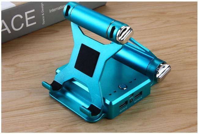 3 in 1 Smartphonehalter blau