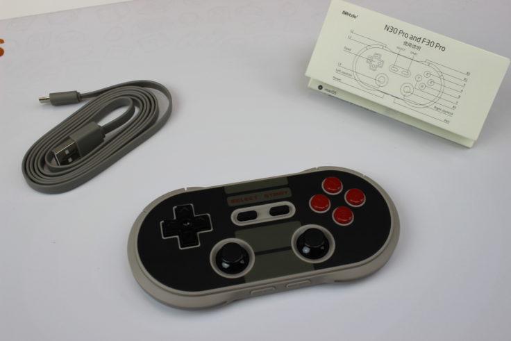 8Bitdo NES30 Pro Bluetooth Controller (6)