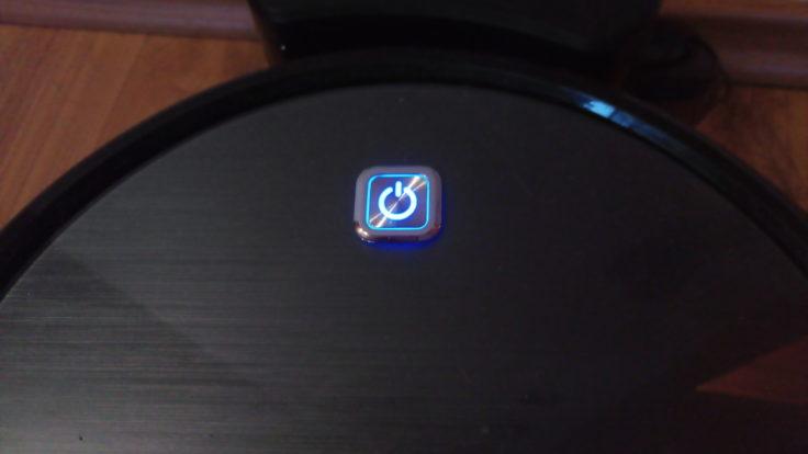 Anker Eufy RoboVac 11 Saugroboter Button