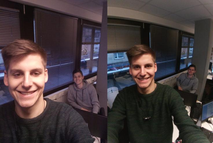 Doogee Mix 2 Frontkamera Vergleich