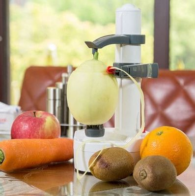 Elektrische Schälmaschine für Obst und Gemüse für 17,49€