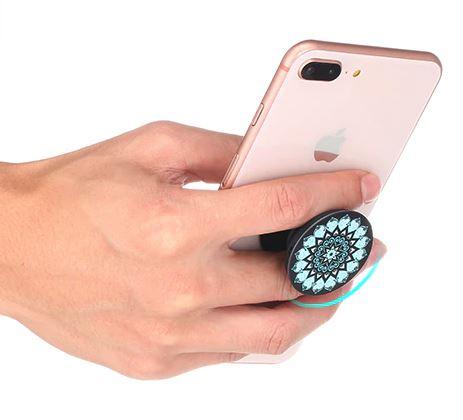 Flexible Smartphonehalterung als Griff