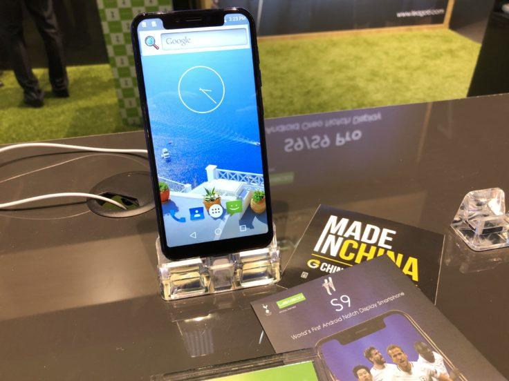 Leagoo S9 Smartphone auf MWC 2018
