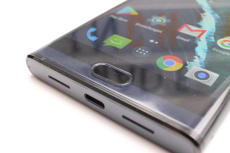 MAZE Comet Smartphone Fingerabdrucksensor