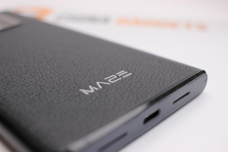 MAZE Comet Smartphone Schriftzug