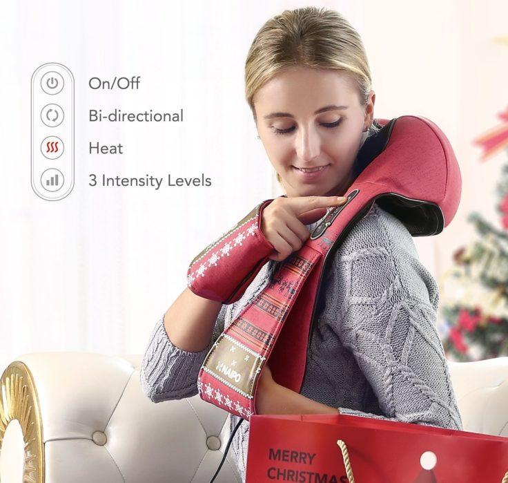 Naipo Schultermassagegerät Adventskalender Tor 4