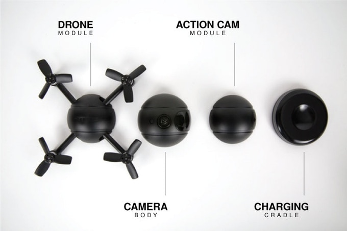 PITTA Selfie Drohne Kickstarter Module