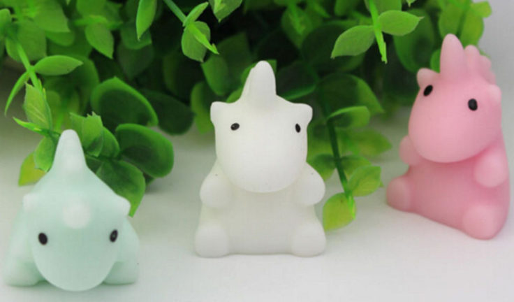 Squishy Figuren Einhorn