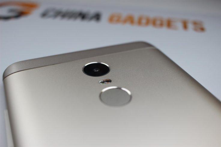 Xiaomi Redmi 4X Kamera & Fingerabdrucksensor