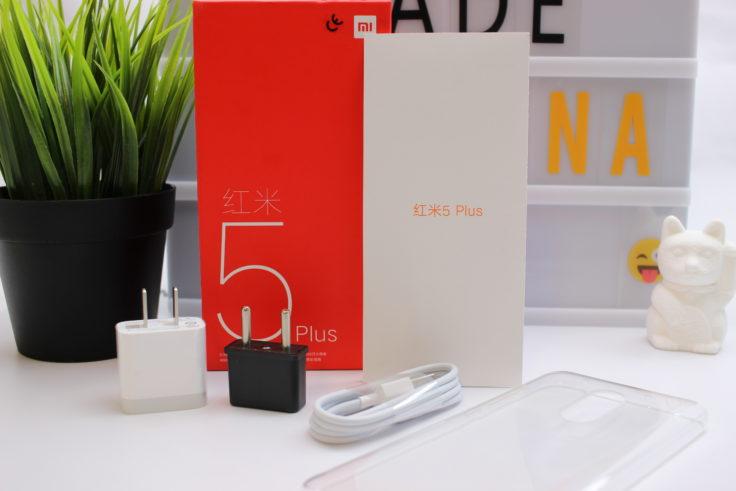 Xiaomi Redmi 5 Plus Smartphone Lieferumfang