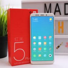 Xiaomi Redmi 5 Plus Smartphone Verpackung