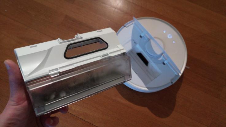 Xiaomi RoboRock Sweep One Saugroboter Staubkammer
