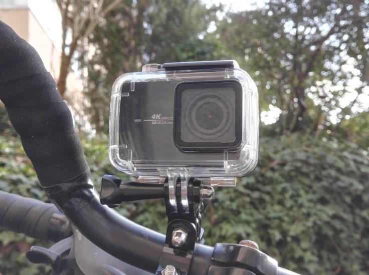 Actioncam am Fahrradlenker