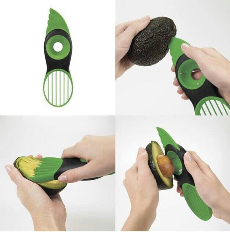 Avocadoschneider Anleitung