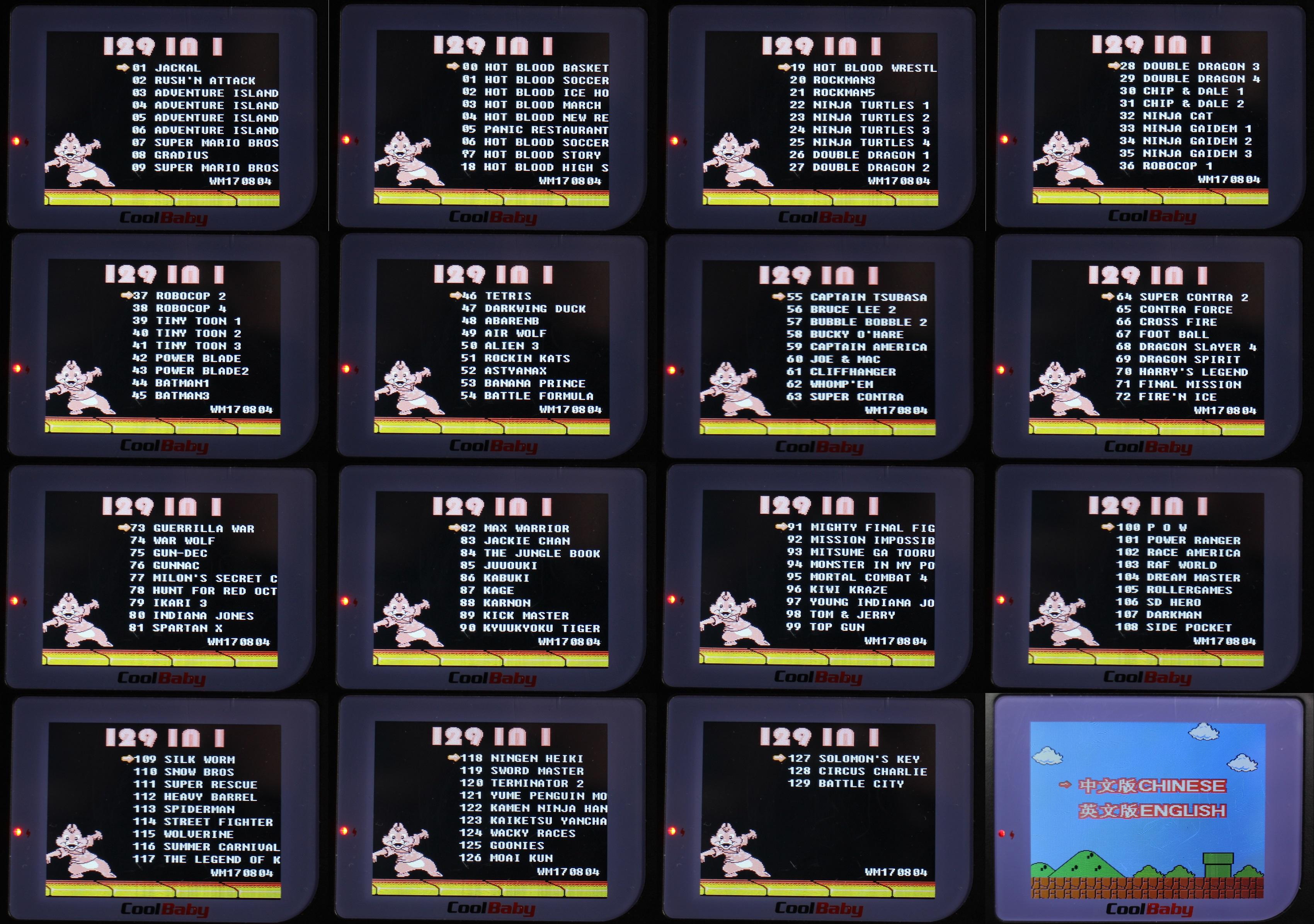 game boy klon mit 129 classic spielen f r unter 20. Black Bedroom Furniture Sets. Home Design Ideas
