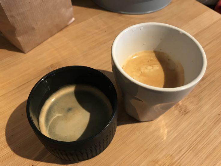 Portable Espressomaschine Espresso Vergleich