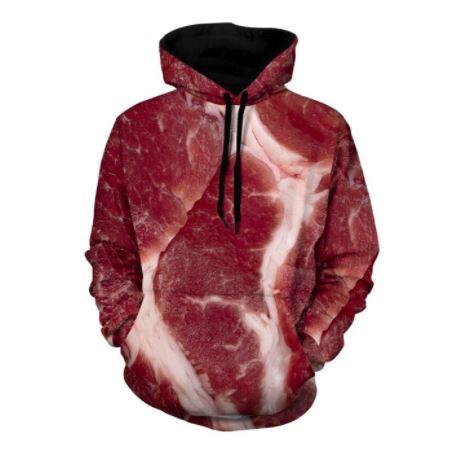 Fleisch-Pullover