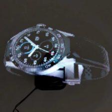 Hologramm Uhr