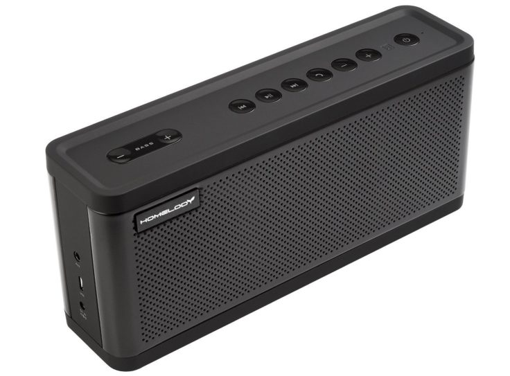 homelody t108 im test 25w bluetooth speaker mit bass control. Black Bedroom Furniture Sets. Home Design Ideas