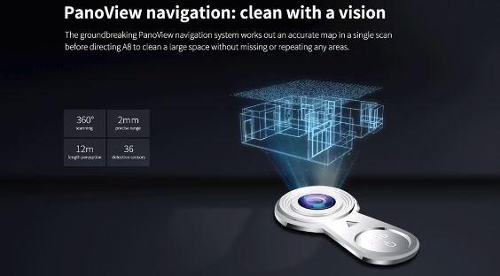 ILIFE A8 Saugroboter Kamera